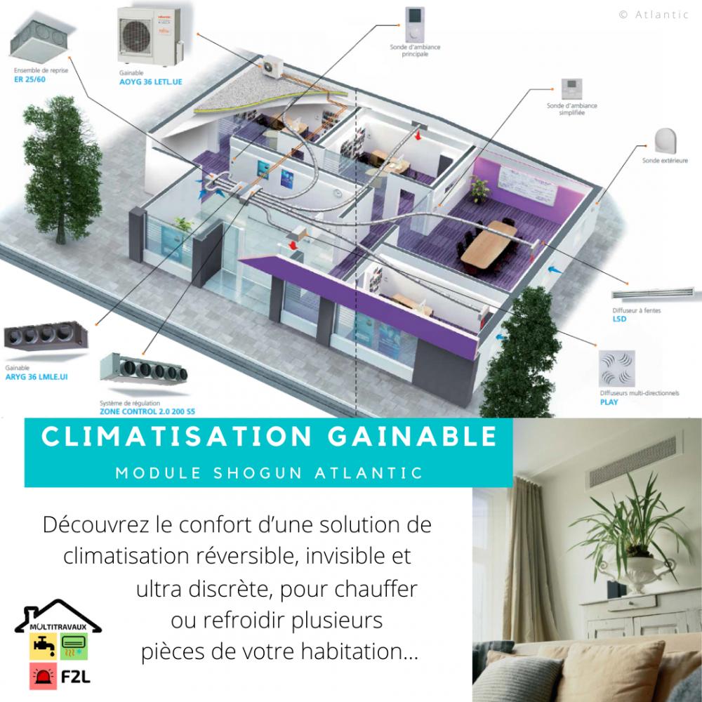 Devis Climatisation à Bourgoin-Jallieu ▷ Prix & Coût : Réversible, Maison, Gainable